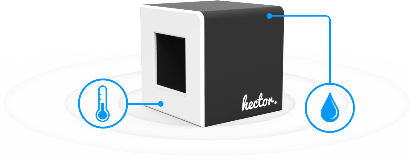 hector le thermom tre et hygrom tre connect breizhfunding. Black Bedroom Furniture Sets. Home Design Ideas