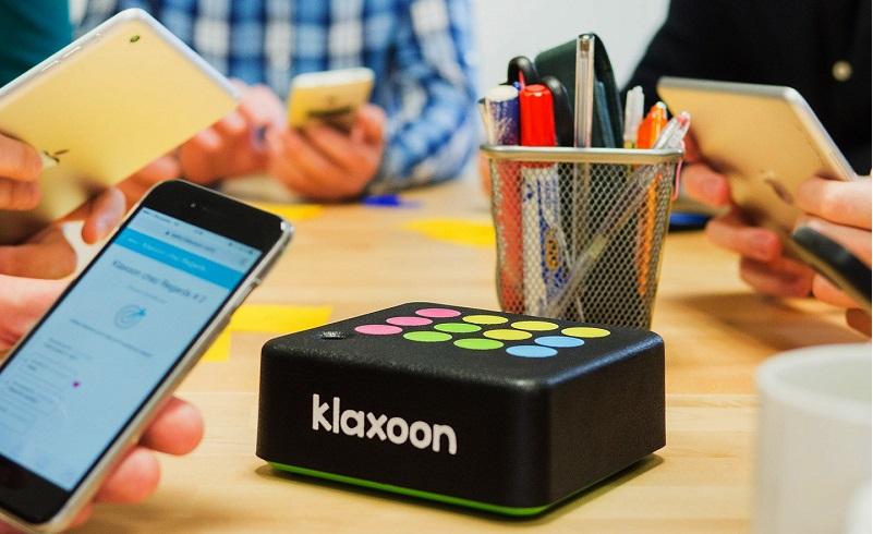 La levée de fonds qui soulève une question : Klaxoon ou Klaxoon ?