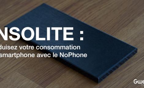 Insolite: Réduisez votre consommation de smartphone avec le NoPhone