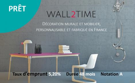 Wall2Time, un projet sur-mesure pour une campagne de prêt