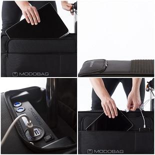 Insolite du crowdfunding : Modobag, la valise sur laquelle grimper