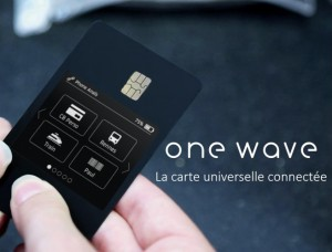 One wave : La carte multiusage connectée width=
